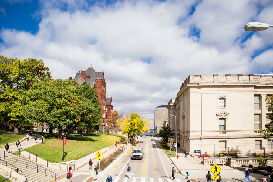 uw Madison wi campus during the summer